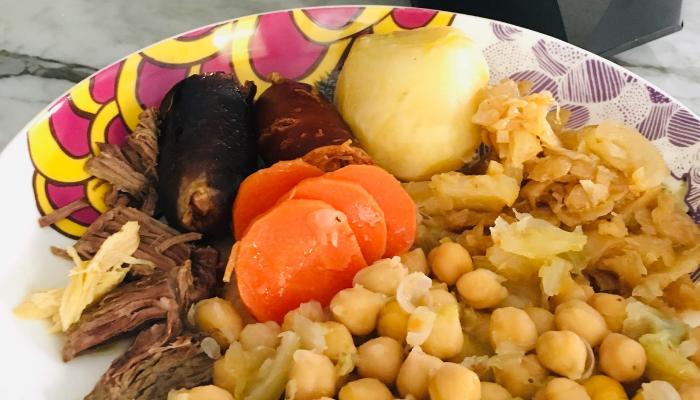 Cocido madrileño rápido más o menos - Locas de la vida, recetas fáciles y rápidas de preparar