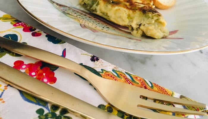 Tortilla de judias verdes y coliflor - Locas de la vida, recetas fáciles y rápidas de preparar
