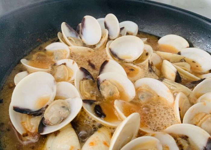 Receta de Pochas con almejas   Locas de la vida, recetas fáciles y rápidas